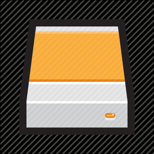 Disk, Drive, Enclosure, External, Hard, Hard Drive, Hdd Icon
