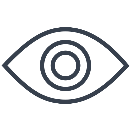 Eye, Find, Look, See, Unhide, View, Visible Icon