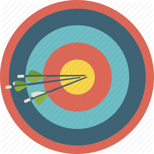 Bullseye, Archery, Circle, Transparent Png Image Clipart Free