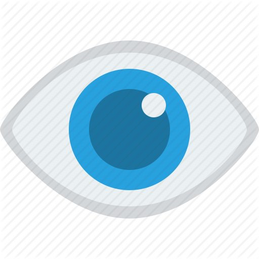 Vector Eyeball Flat Transparent Png Clipart Free Download
