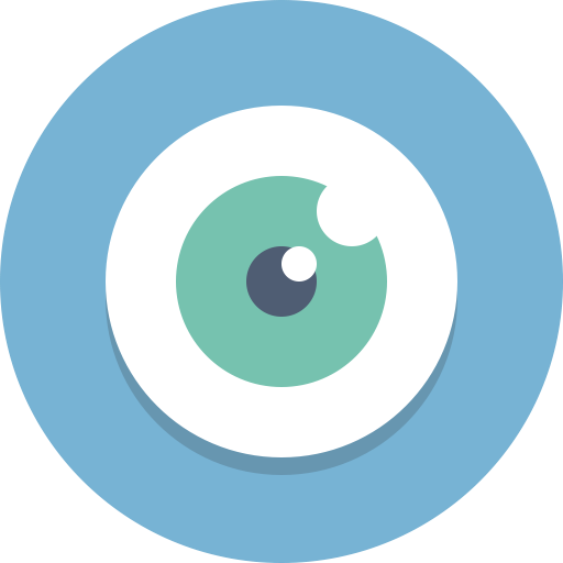 Vision, Eye Icon