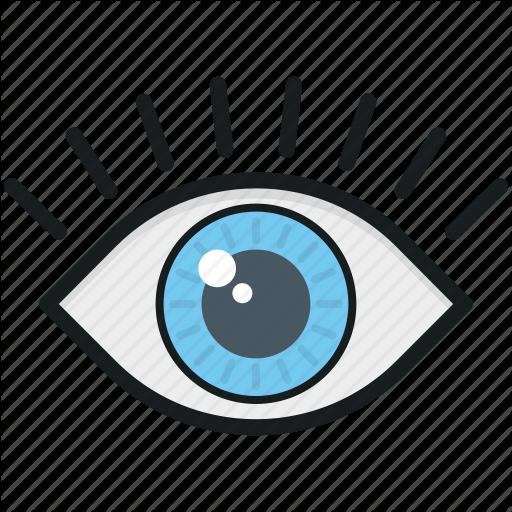 Eye, Human Eye, Look, View, Visibility Icon