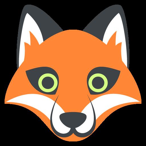 Fox Face Emoji Vector Icon Free Download Vector Logos Art