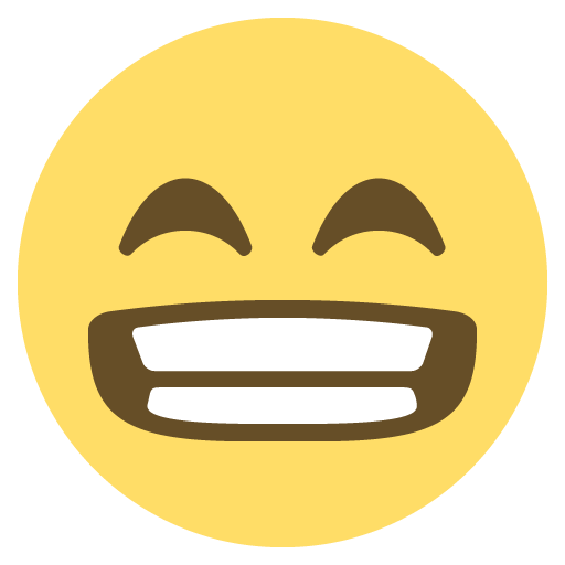 Grinning Face With Smiling Eyes Emoji Emoticon Vector Icon Free