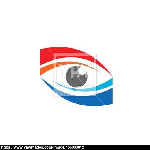 Eye Vision Logo Symbol Icon Vector Design Vector