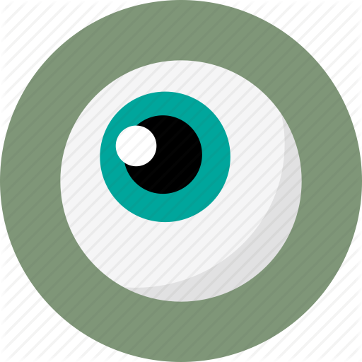 Ball, Blue, Blue Eye, Eye, Eye Ball, Eyeball Icon