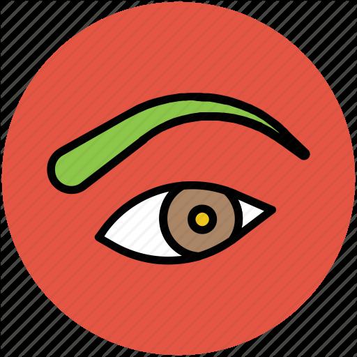 Beauty Care, Eye, Eye Care, Eyebrow, Personal Care Icon