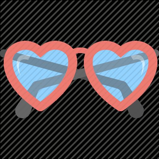 Fashion Glasses, Heart Glasses, Heart Shaped Glasses, Heart