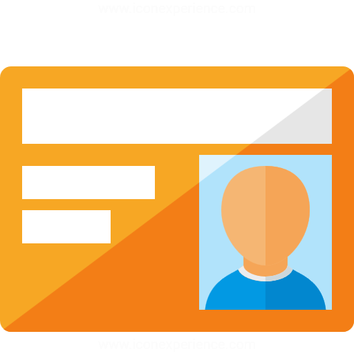 Iconexperience G Collection Id Card Icon