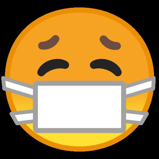 Face With Medical Mask Icon Noto Emoji Smileys Iconset Google