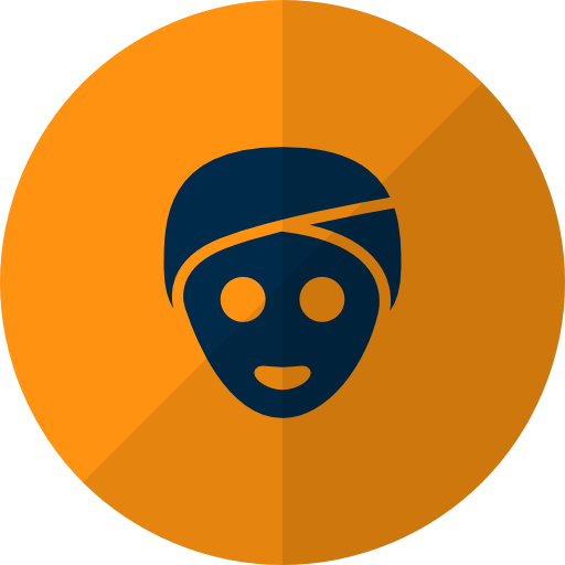 Yellow, Face, Mask Icon Free Of Hotel And Spa Icons