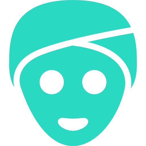 Green, Face, Mask Icon Free Of Hotel And Spa Icons