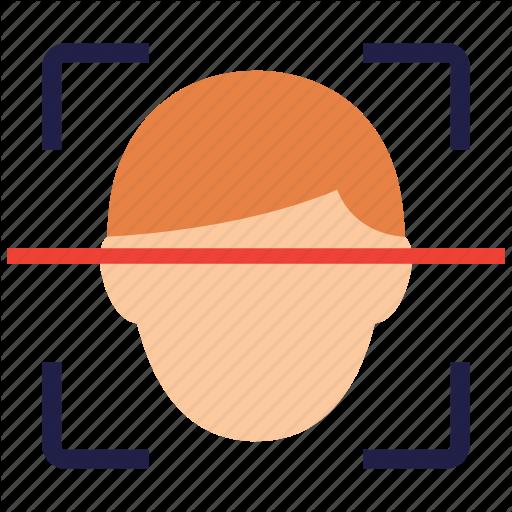 Face, Facial, Recognition, Scan Icon