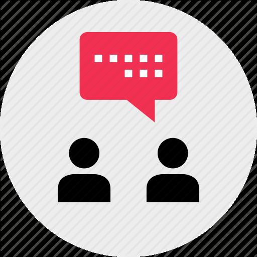Chat, Communication, Conversation, Face, Online, Talk Icon