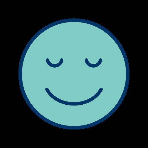 Face, Smiley, Emoticon, Calm Icon