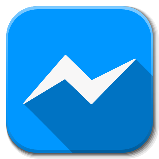 Apps Facebook Messenger Icon Flatwoken Iconset Alecive
