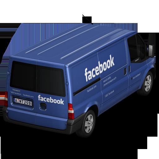 Back, Facebook Icon