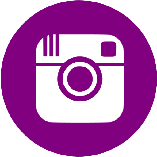 Facebook Twitter Instagrams Purple Logo Png Images