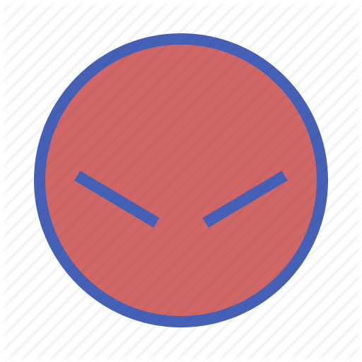 Angry, Emoji, Facebook Icon
