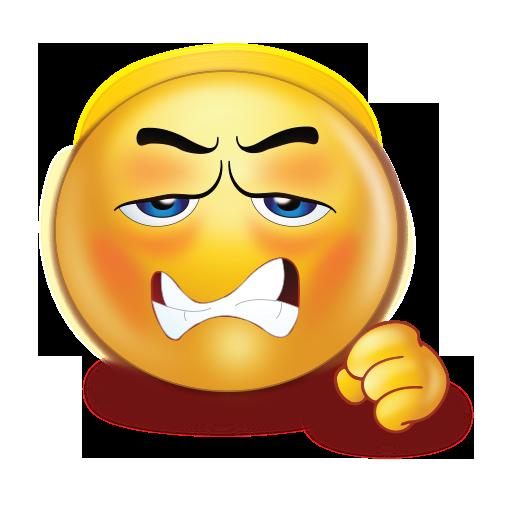 Angry Sad Fist Emoji