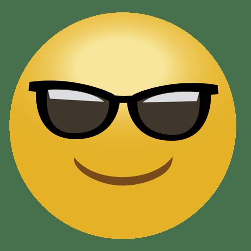 Cool Emoji Emoticon