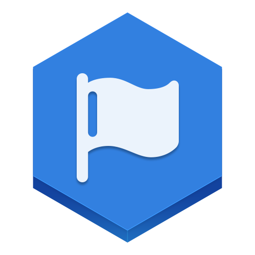 Facebook Pages Icon Hex Iconset