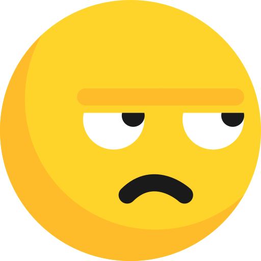 Angry, Avatar, Emoji, Emoticon, Expression, People, Think Icon