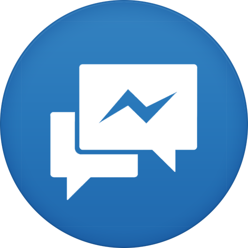 Facebook Messenger Icon Circle Iconset