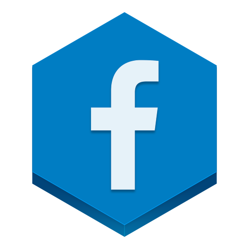 Facebook Icon Hex Iconset