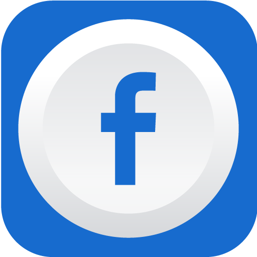Facebook Icon Rounded Flat Social Iconset Graphicloads