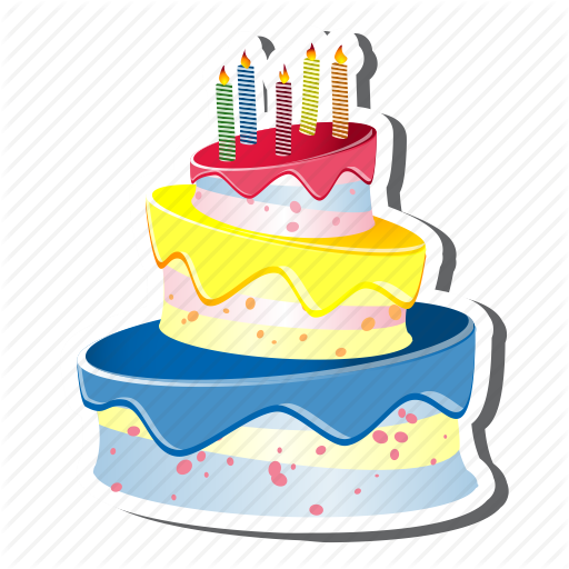 Birthday Cake Icons No Attribution