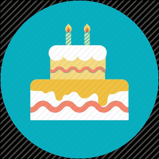 Birthday Cake, Cake, Cake With Candles, Celebration, Christmas