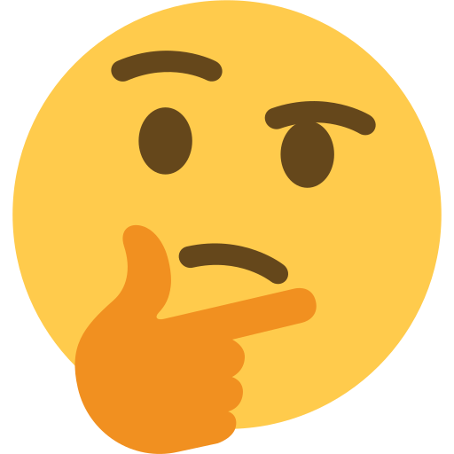 Nachdenkendes Gesicht Emoji Smiley