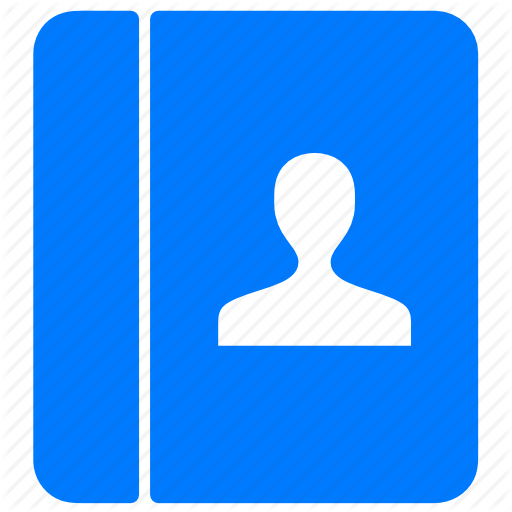 Blue Contact Icon Images