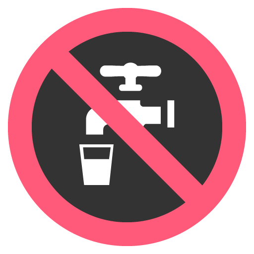 Non Potable Water Symbol Emoji For Facebook, Email Sms Id