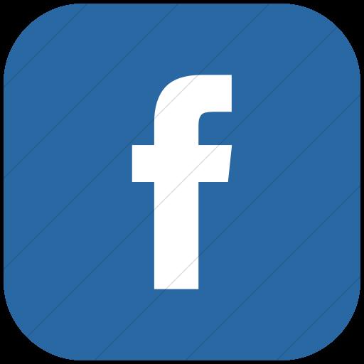 Bootstrap Round Facebook Icon