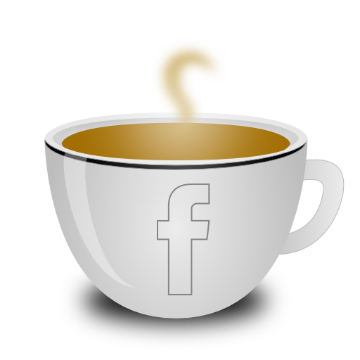 Coffee, Facebook, Black Icon Free Of Coffee Icons