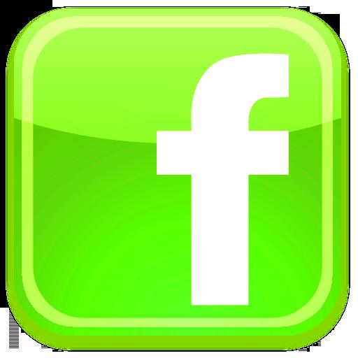 Facebook Black Green Logo Png Images