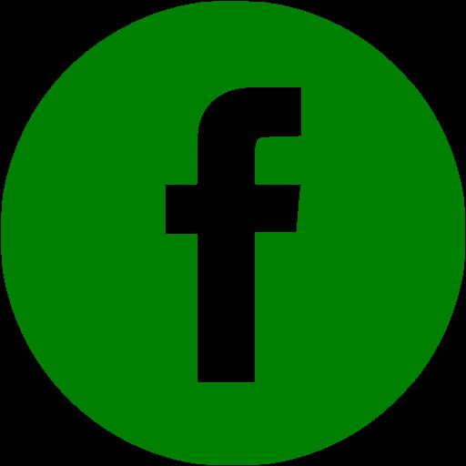 Green Facebook Icon