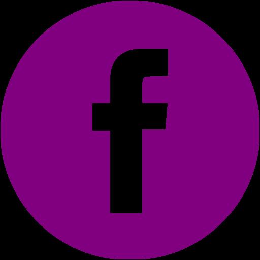 Purple Facebook Icon