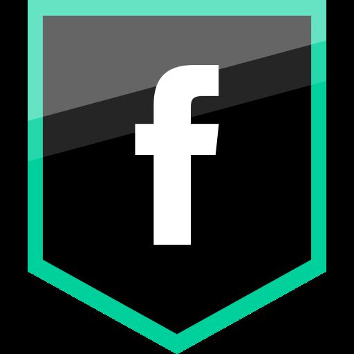 Social Media Facebook Black Icon