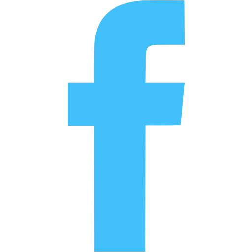 Blue Facebook Icon Images