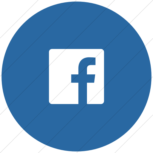 Flat Circle White On Blue Foundation Social Facebook Icon
