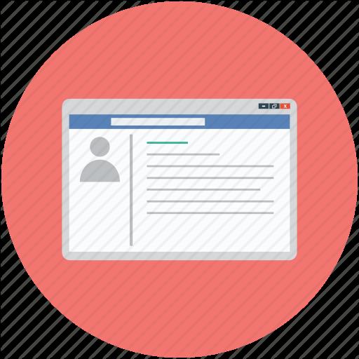Facebook, Facebook Login, Facebook Page, Webpage, Website Icon