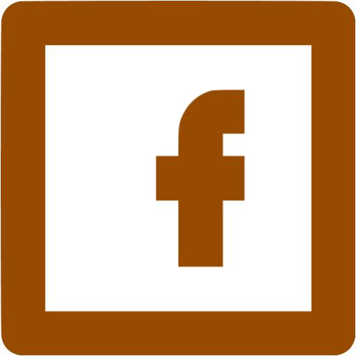 Brown Facebook Icon