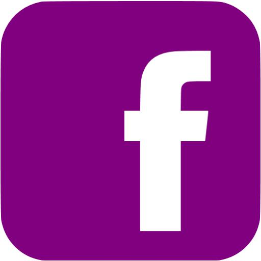 Purple Facebook Icon