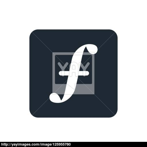 Icon Facebook Vector