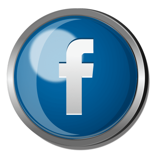 Round Facebook Vector Logo Png Images