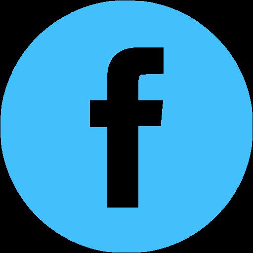 Caribbean Blue Facebook Icon