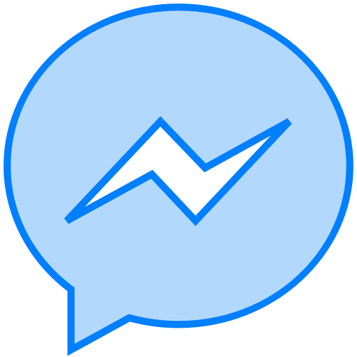 Facebook, Line, Messenger, Social, Transparent Icon